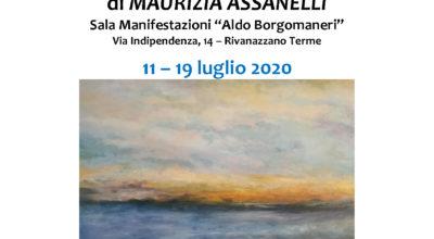 """""""Atmosfere"""": mostra personale di pittura di Maurizia Assanelli"""
